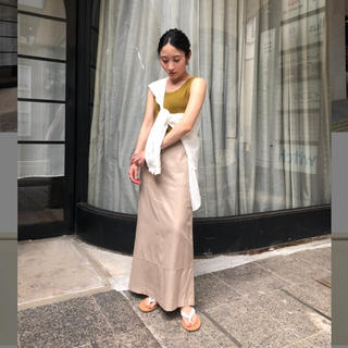 トゥデイフル(TODAYFUL)のTODAYFUL     Satin Piping Skirt(ロングスカート)