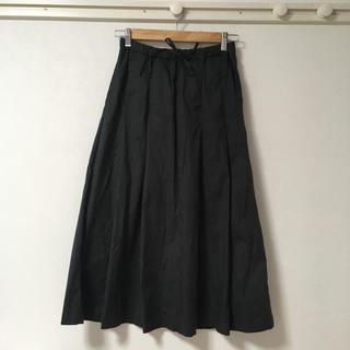 ムジルシリョウヒン(MUJI (無印良品))のタック スカート  無印良品(ロングスカート)