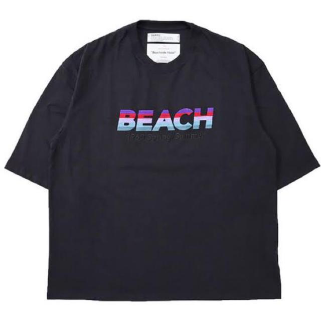SUNSEA(サンシー)のDAIRIKU BEACH TEE Tシャツ 黒 ブラック 新品未使用 メンズのトップス(Tシャツ/カットソー(半袖/袖なし))の商品写真