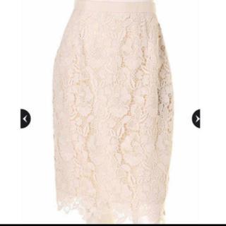 ジャスグリッティー(JUSGLITTY)の新品ジャスグリッティー  レース スカート (ひざ丈スカート)