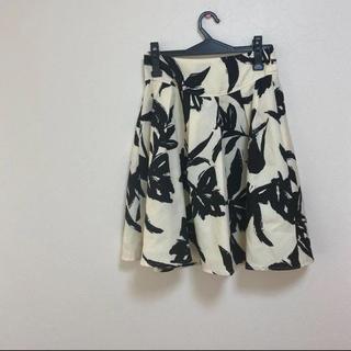グレイル(GRL)のGRL花柄スカート(ひざ丈スカート)