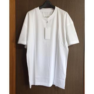 マルタンマルジェラ(Maison Martin Margiela)の20SS新品48 メゾン マルジェラ シーム オーバーサイズ Tシャツ ホワイト(Tシャツ/カットソー(半袖/袖なし))