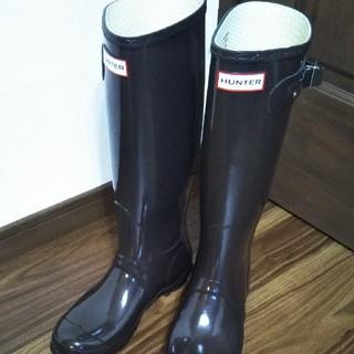ハンター(HUNTER)の新品 HUNTERレインブーツ 24(レインブーツ/長靴)