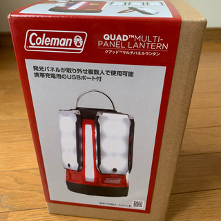コールマン(Coleman)のコールマンクアッドマルチパネルランタン(ライト/ランタン)