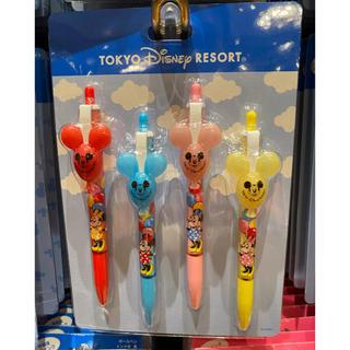 Disney - ディズニーリゾート ミッキーバルーンボールペン4本