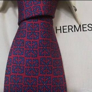 Hermes - ◎美品★エルメスHERMES★色気ある小紋柄★フランス製高級シルクネクタイ