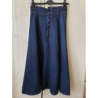 デイシー(deicy)のdeicy デニムスカート サイズ0(ひざ丈スカート)