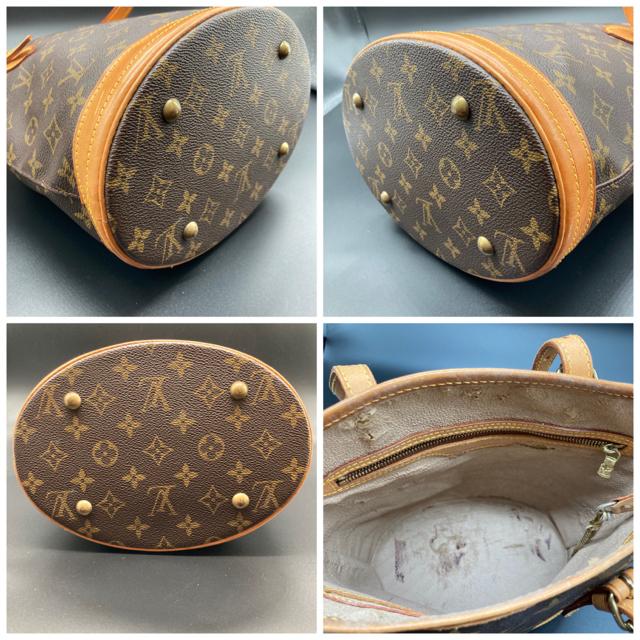 LOUIS VUITTON(ルイヴィトン)のルイヴィトン モノグラム プチバケット バケツ トートバッグ M42238 PM レディースのバッグ(トートバッグ)の商品写真