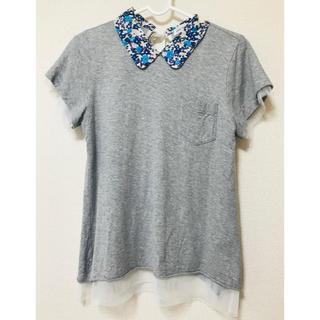 サカイラック(sacai luck)のsacai luck チュールカットソー(Tシャツ(半袖/袖なし))