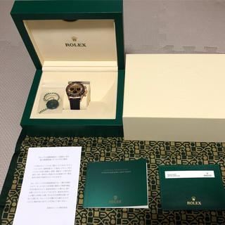 ロレックス(ROLEX)のオイスターフレックスデイトナ 116515LN  ピンクブラック文字盤(腕時計(アナログ))