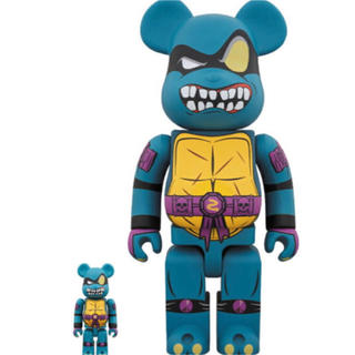 TURTLES 100% & 400% SET BE@RBRICK SLASH (その他)
