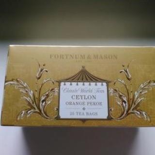 ハロッズ(Harrods)の【未開封】フォートナム & メイソン セーロン オレンジ ペコ(茶)