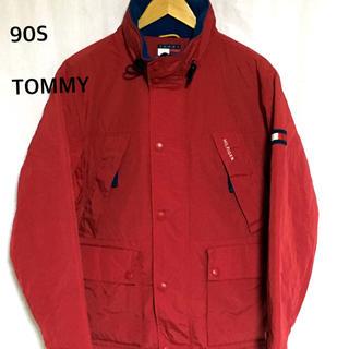 トミーヒルフィガー(TOMMY HILFIGER)の90S トミーヒルフィガー ナイロンジャケット (ブルゾン)