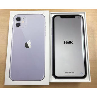 iPhone - (実品)SIMフリーiPhone 11 #64GB