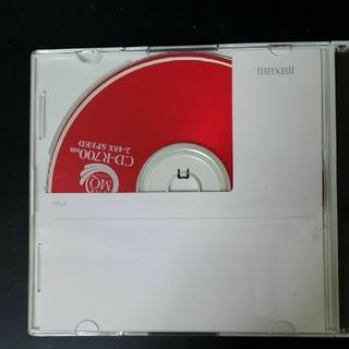 マクセル(maxell)の新品 CD-R700MB(PC周辺機器)