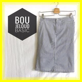 ブージュルード(Bou Jeloud)の【美品♡】◆Bou Jeloud Basic◆ブージュルードベーシック スカート(ひざ丈スカート)