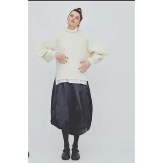 エンフォルド(ENFOLD)の美品ENFOLD アシンメトリー バルーンスカート 2019aw(ロングスカート)