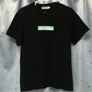 ミルクフェド(MILKFED.)の刺繍ロゴ Tシャツ(Tシャツ(半袖/袖なし))