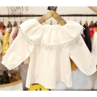 スモック ブラウス 韓国子供服