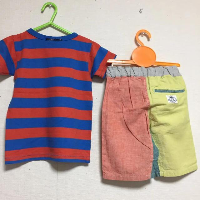 BREEZE(ブリーズ)のブリーズ エフオーキッズ  110サイズ  キッズ/ベビー/マタニティのキッズ服男の子用(90cm~)(Tシャツ/カットソー)の商品写真