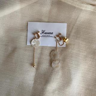 TODAYFUL - gold shell earring 〔ear cuff〕