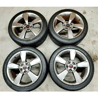 スバル - スバル WRX STI 純正 ホイールタイヤ 245/40R18 4本セット