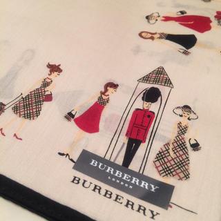 BURBERRY - Burberry ハンカチ  兵隊 女の子 新品
