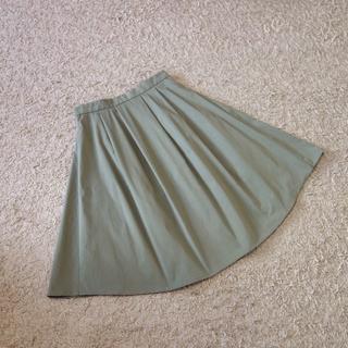 アンタイトル(UNTITLED)のUNTITLED/ストレッチタイプライタースカート(ひざ丈スカート)