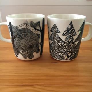 マリメッコ(marimekko)のマリメッコ マグカップ2個セット【新品】(マグカップ)