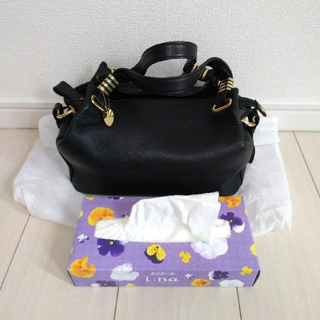 濱野皮革工藝/HAMANO(ハマノヒカクコウゲイ)のyuhamano 本革 ハンドバッグ レディースのバッグ(ハンドバッグ)の商品写真