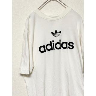 アディダス(adidas)の【激レア】アディダス トレフォイル Tシャツ ビックロゴ デカロゴ(Tシャツ/カットソー(半袖/袖なし))