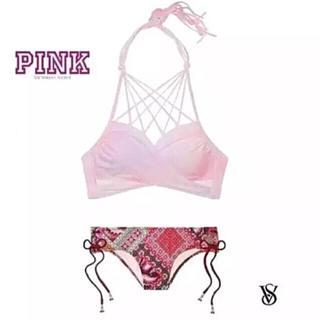 Victoria's Secret - 新品 PINK/VS グラデーション Wrapホルタービキニset