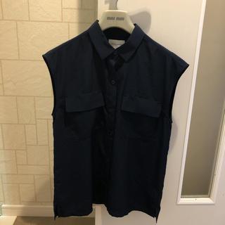 UNITED ARROWS - ユナイテッドアローズ ノースリーブシャツ