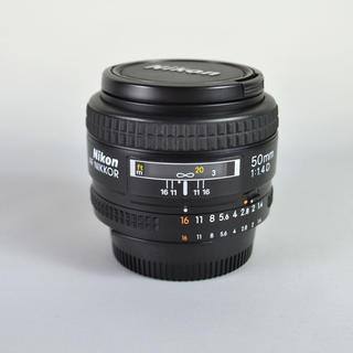 ニコン(Nikon)のニコン 単焦点レンズ AF Nikkor 50mm 1:1.4D 中古美品(レンズ(単焦点))