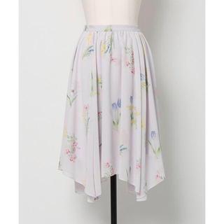 Noela - ノエラ オリジナルフラワーガーデン柄スカート