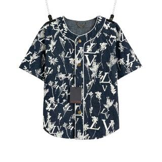 ルイヴィトン(LOUIS VUITTON)の半袖デニムジャケットシャツ.(シャツ)