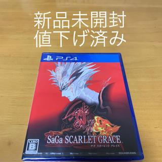 PlayStation4 - サガ スカーレット グレイス 緋色の野望 PS4