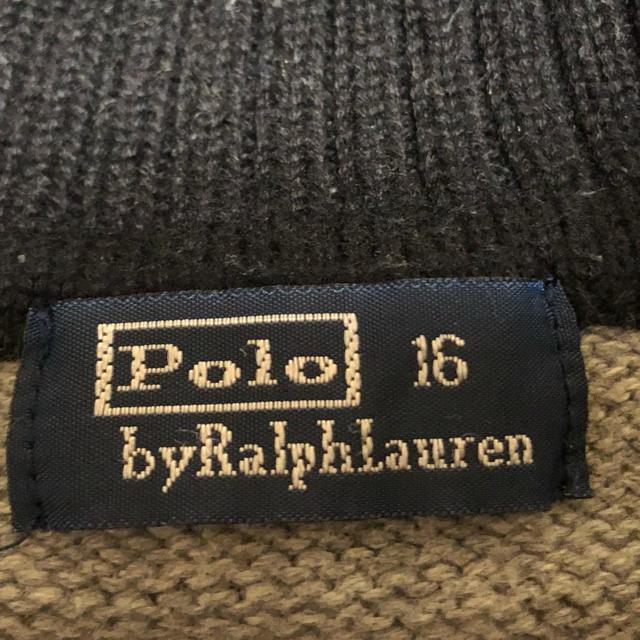 POLO RALPH LAUREN(ポロラルフローレン)のPOLO ポロセーター キッズ/ベビー/マタニティのキッズ服男の子用(90cm~)(ニット)の商品写真