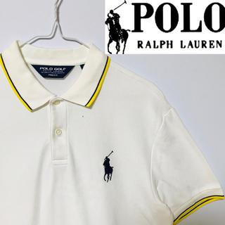 POLO RALPH LAUREN - 希少!Ralph Laurenポロゴルフ ビックポニー ラインポロシャツ