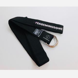 ピースマイナスワン(PEACEMINUSONE)の新品 peaceminusone ベルト(ベルト)