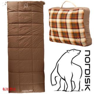 スノーピーク(Snow Peak)のノルディスク NORDISK ALMOND -2℃ 寝袋 シュラフ ブランケット(寝袋/寝具)