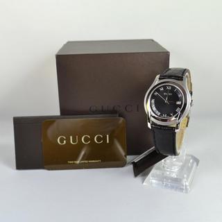 Gucci - グッチ GUCCI 5500M 0190678 メンズ腕時計 クオーツ 中古美品