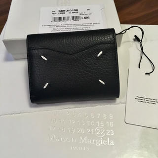 マルタンマルジェラ(Maison Martin Margiela)の新品正規品 Maison Margiela 19AW エンベロープ 三つ折り財布(財布)