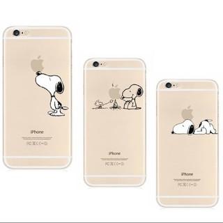スヌーピー(SNOOPY)のiPhone7 iPhone8 スヌーピー シリコン スマホケース (iPhoneケース)