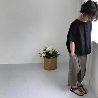 【100cm】変形カットソー*韓国子供服