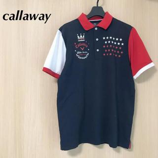 キャロウェイ(Callaway)のcallaway キャロウェイ メンズ  L 半袖 ポロシャツ トップス(ウエア)