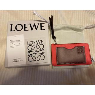 LOEWE - 新品未使用 国内正規品 LOEWE カードホルダー コインケース