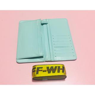 オフホワイト(OFF-WHITE)のOff white 長い財布 (長財布)