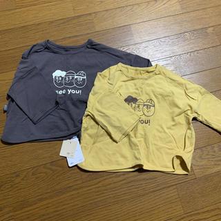 韓国 ベビー 長袖Tシャツ2点セット 福袋(Tシャツ)