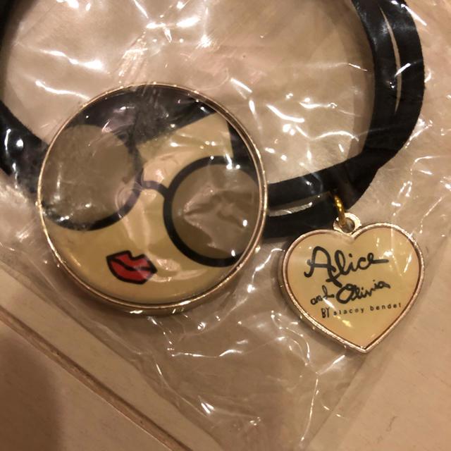 Alice+Olivia(アリスアンドオリビア)の新品!アリスアンドオリビアのヘアゴム レディースのヘアアクセサリー(ヘアゴム/シュシュ)の商品写真